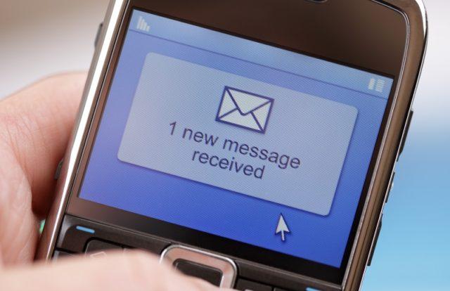 UAE hacks message