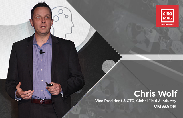 Chris Wolf, Vice President, and CTO, Global Field & Industry, VMware