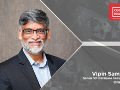 Vipin Samar, Senior Vice President of development for Oracle Database security